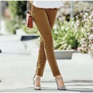 Cabi Corduroy Extra Small 0 Skinny Jean Stretch De